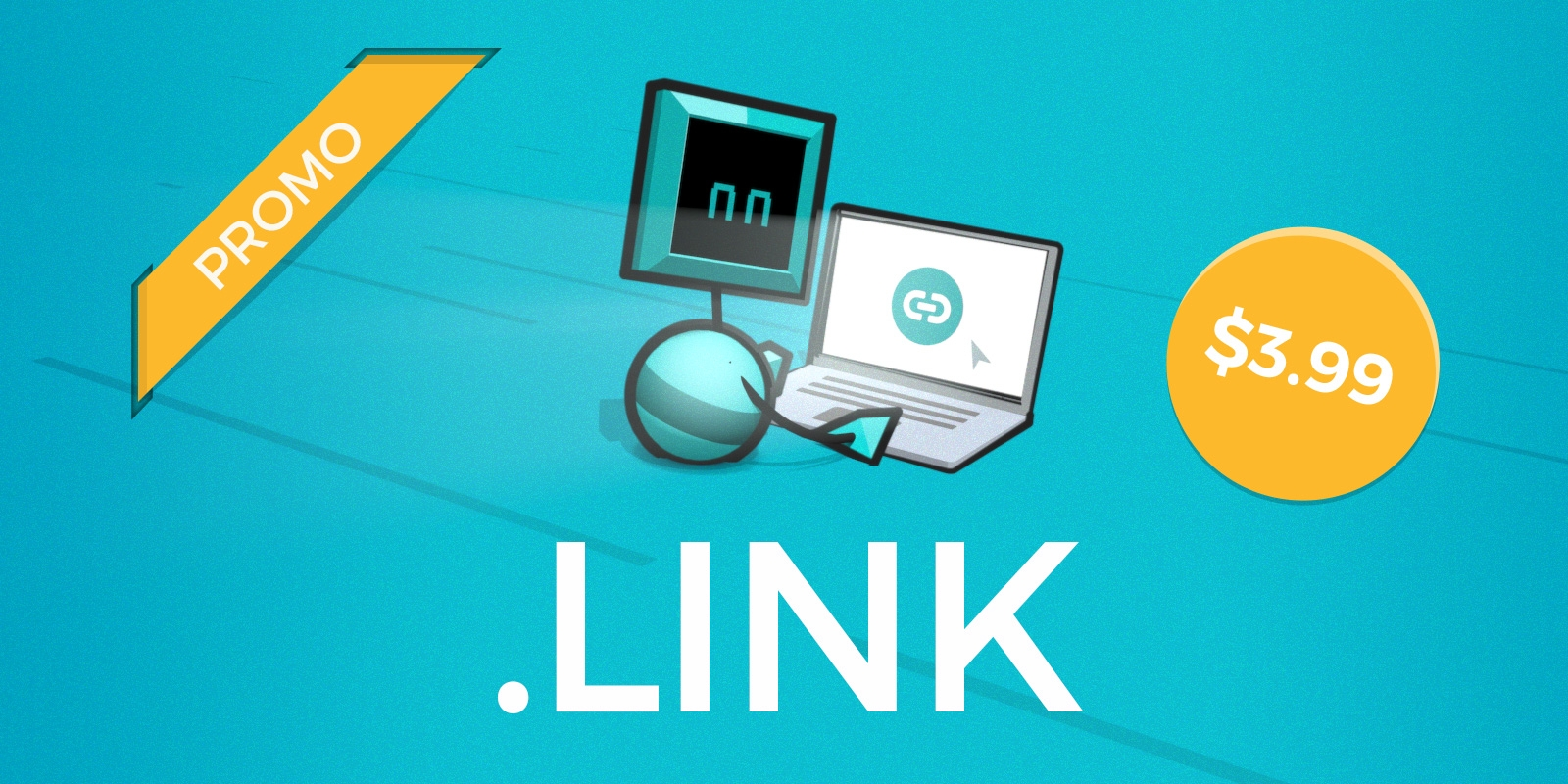 Three TLDs, .click, .link, .lol, for $3.99