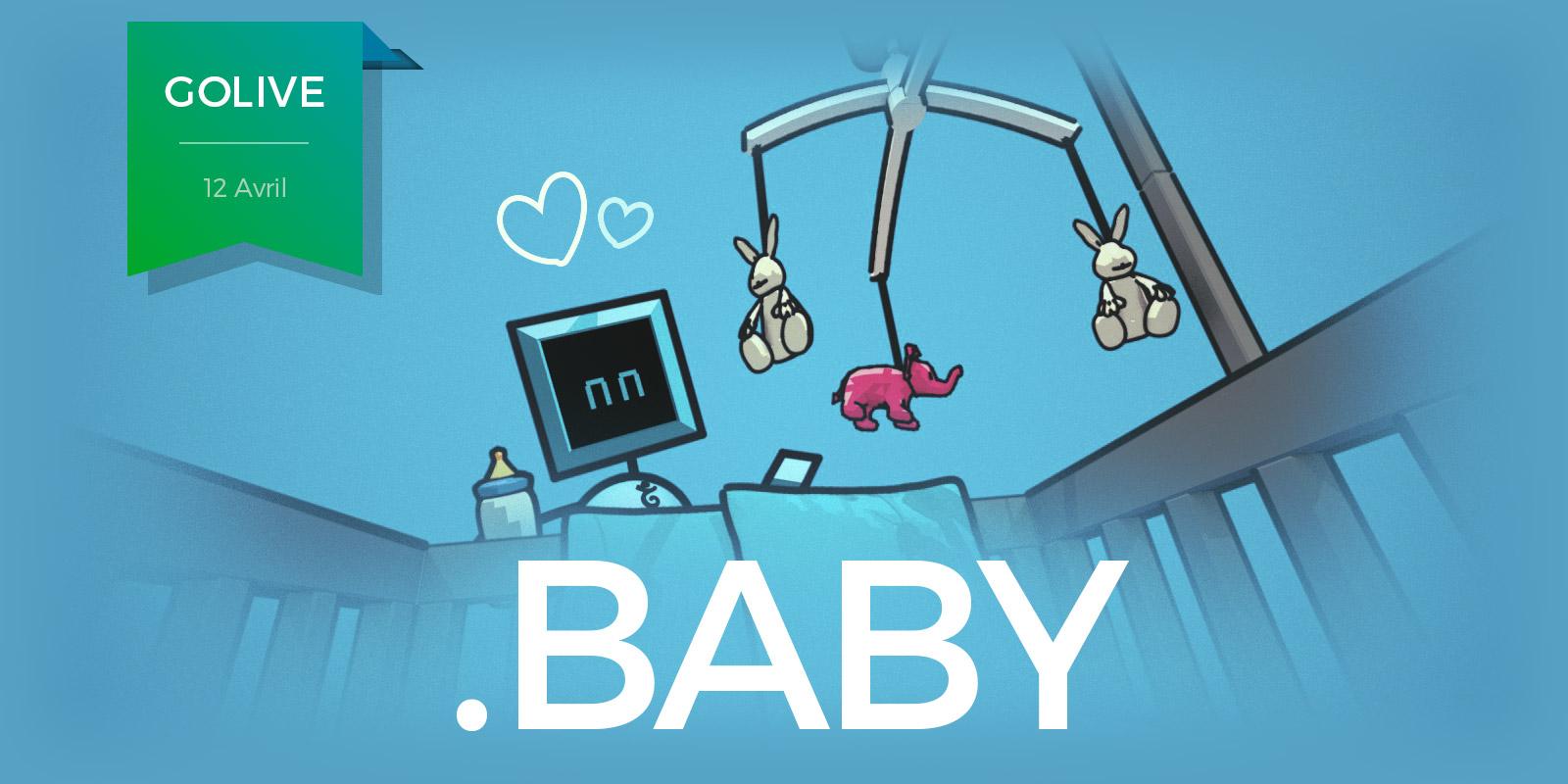 Le .BABY prêt pour l'accouchement