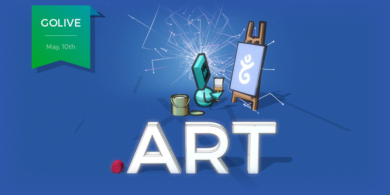 Make .art at Gandi