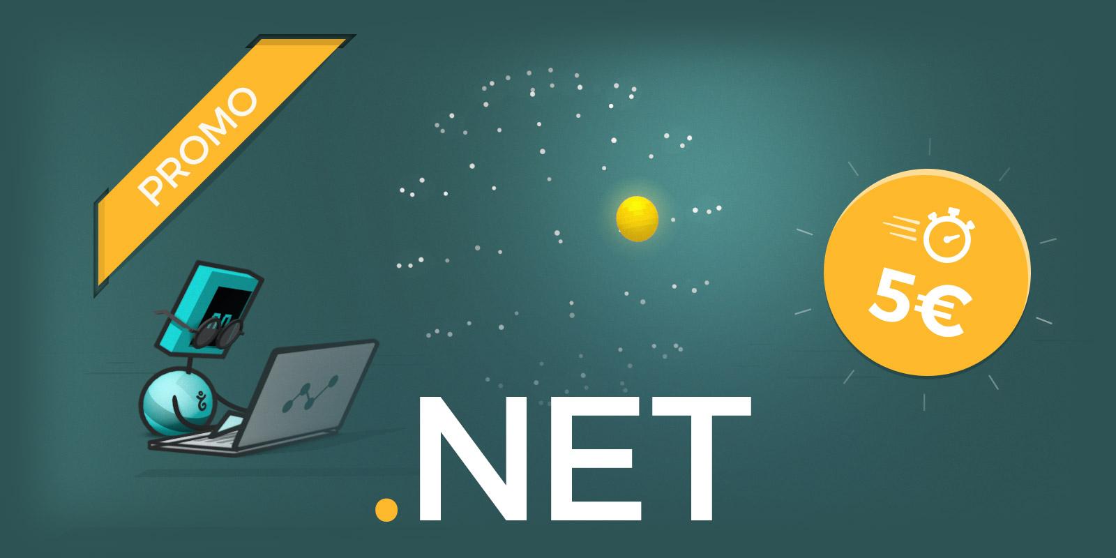 Promo flash sur le .NET