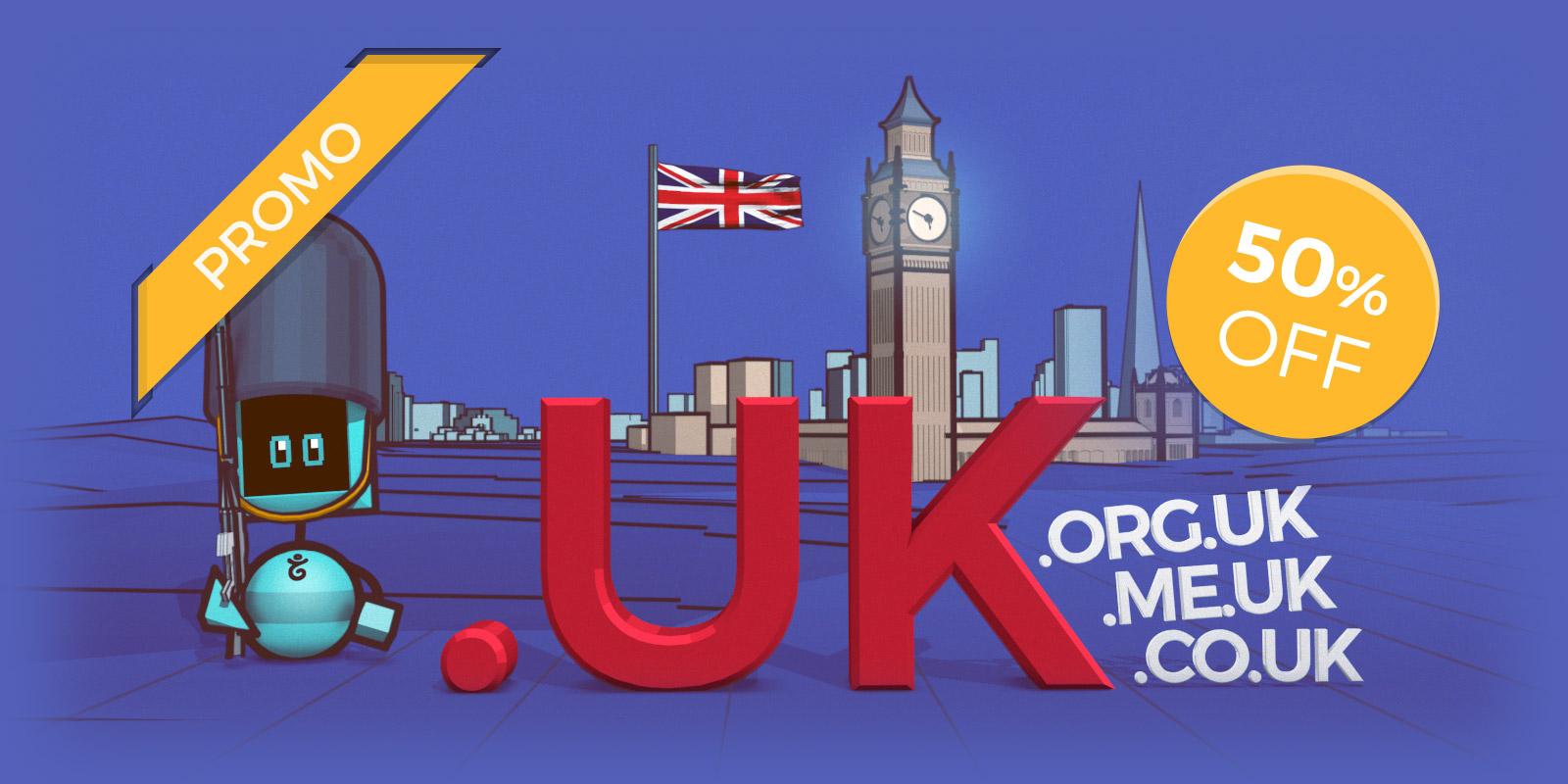 UK domains of every colour: .uk, .co.uk, .org.uk, .me.uk
