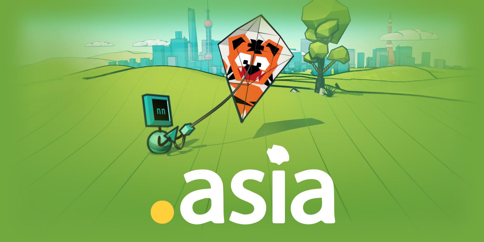 .asia 域名年底前新註冊只要 3 折