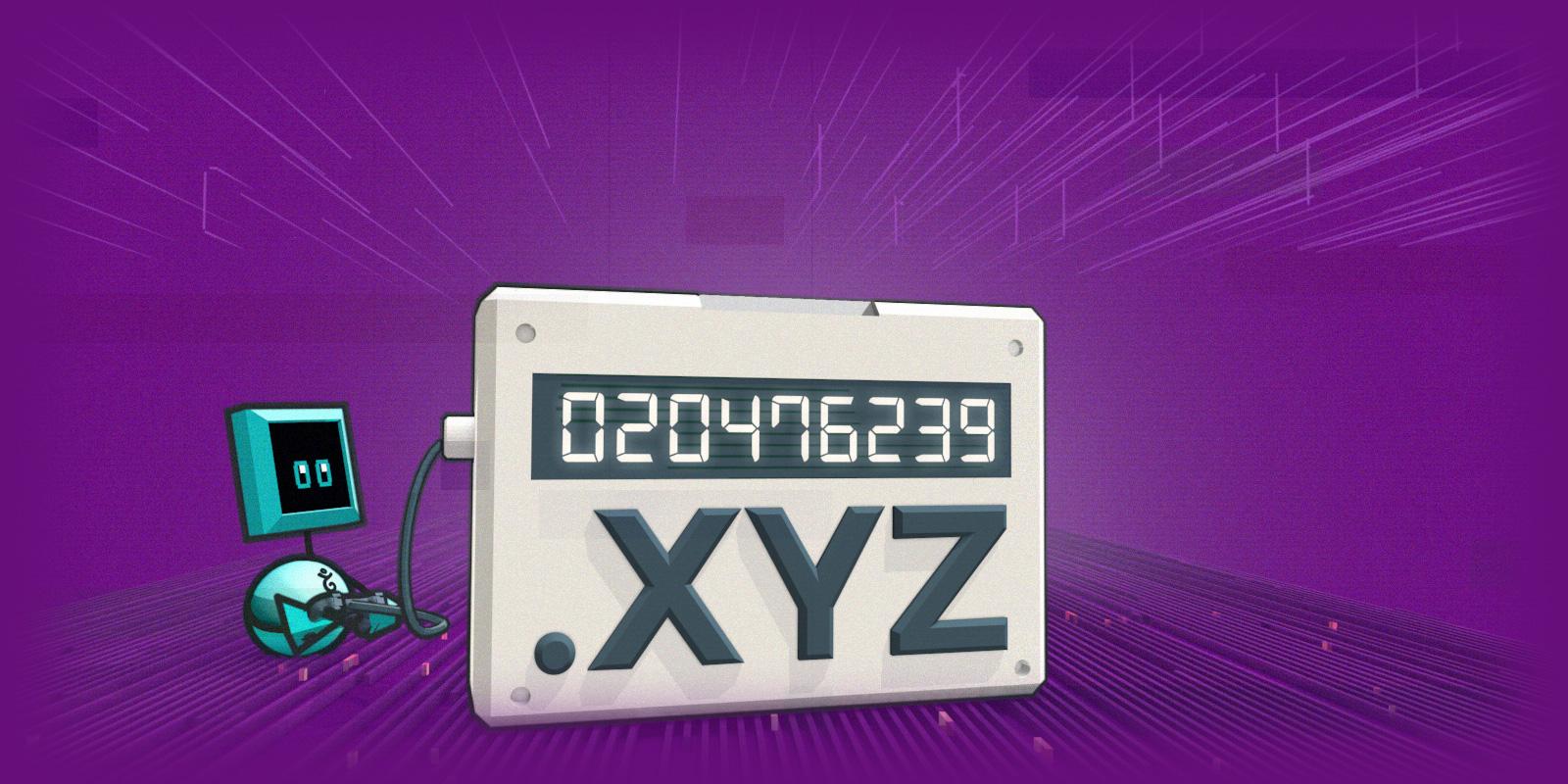 Les domaines .XYZ de 6 à 9 chiffres disponibles !