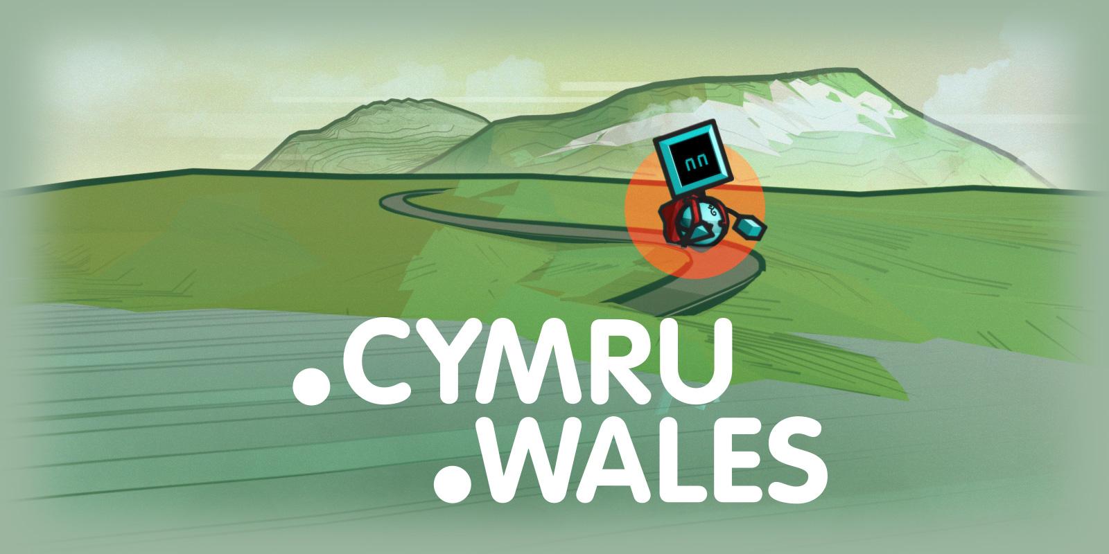 Haga su Web Galés con .wales y .cymru