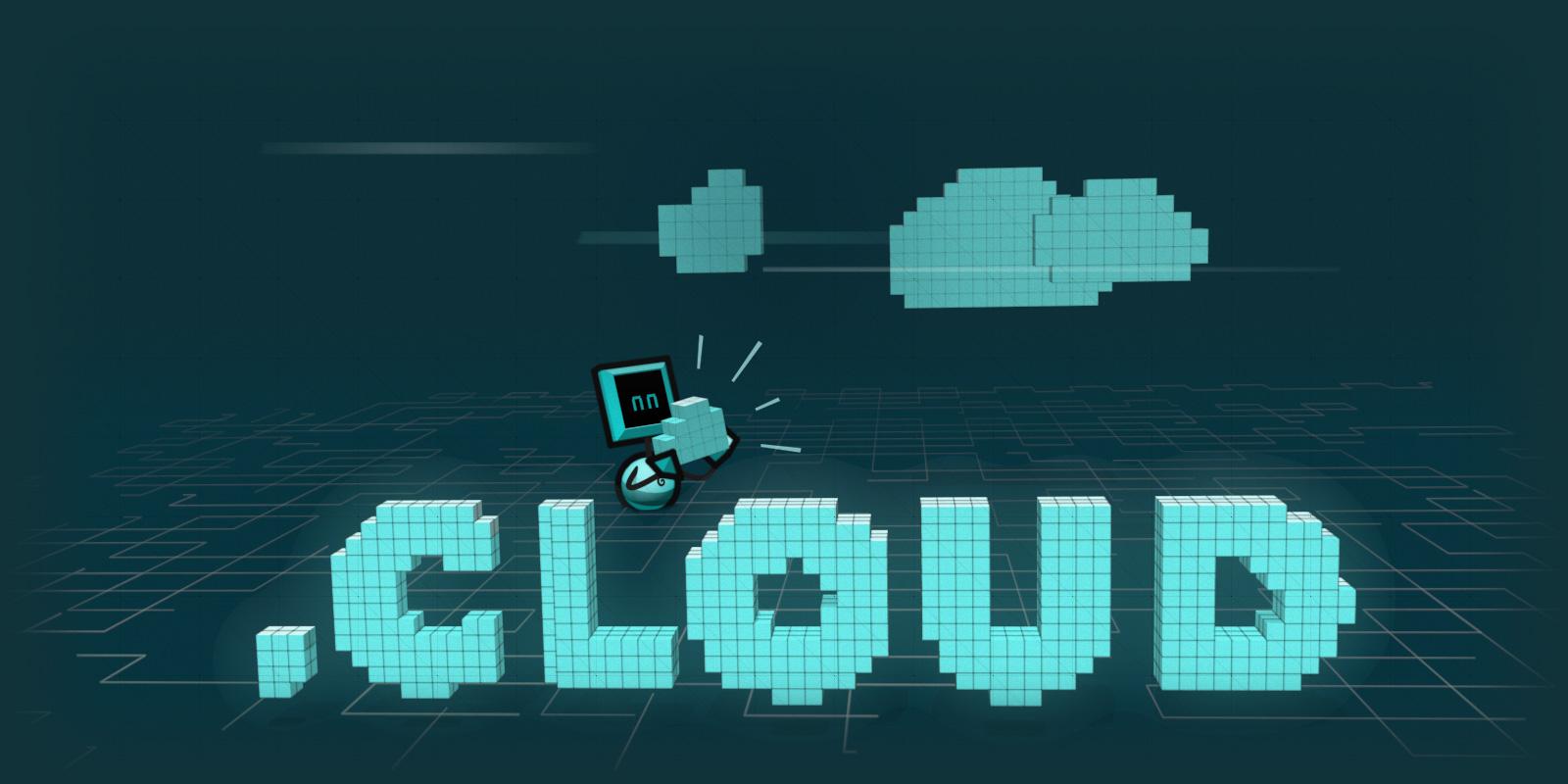 云端域名 .cloud 长期注册优惠