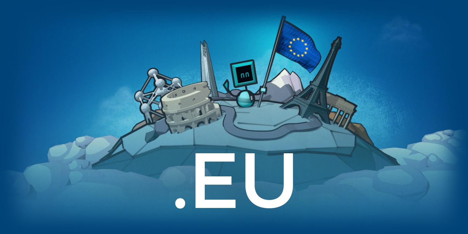 .EU 一個月限時優惠中