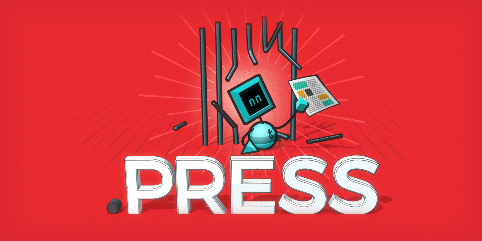 Pasando la página en .press