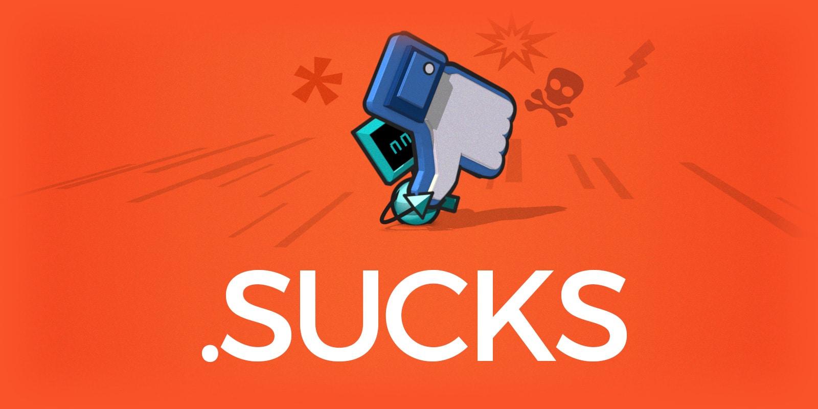 .SUCKS 域名注册优惠只到 11 月底