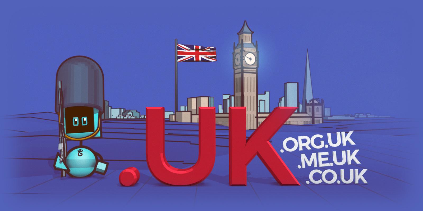 Ahora todos los dominios .uk están disponibles para todos.