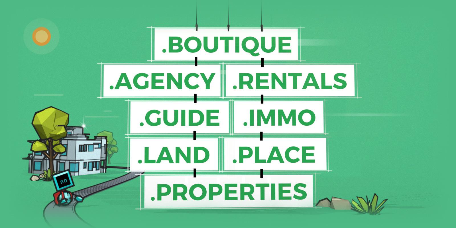和房屋、不动产相关的域名注册优惠