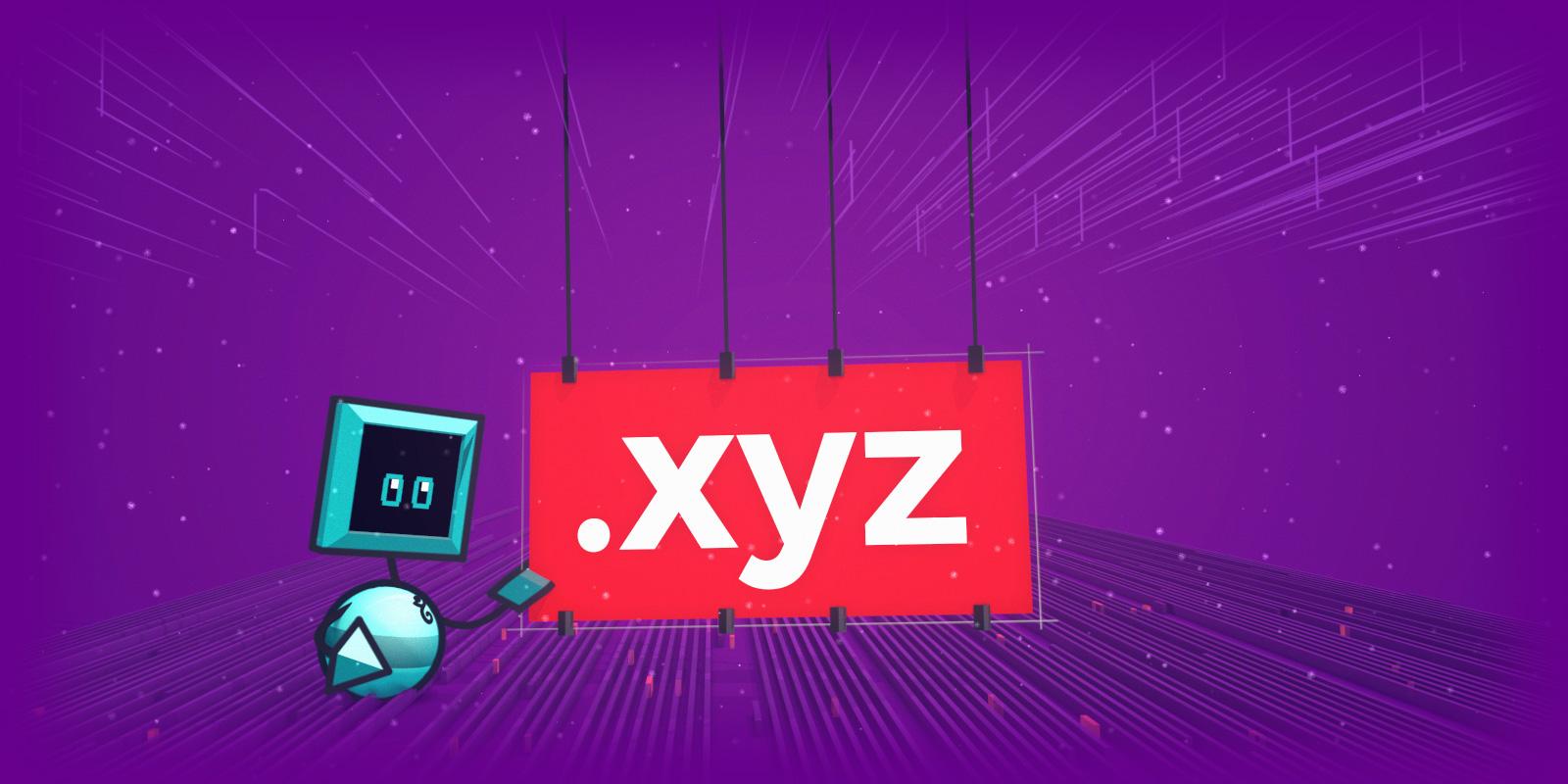 La promo sur les .XYZ continue en 2019