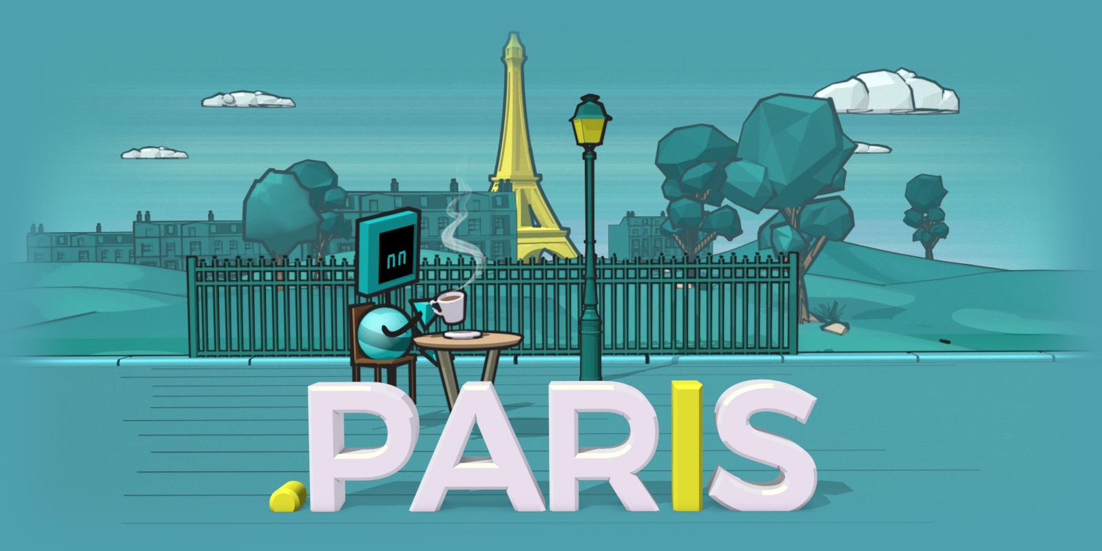 Durée (très) limitée : enregistrez votre .PARIS à petit prix !