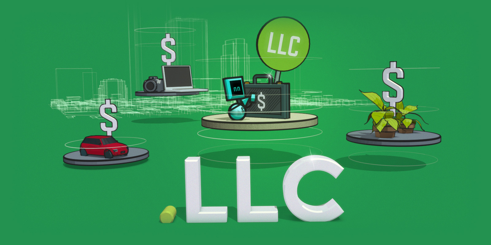 GoLive for .llc domains