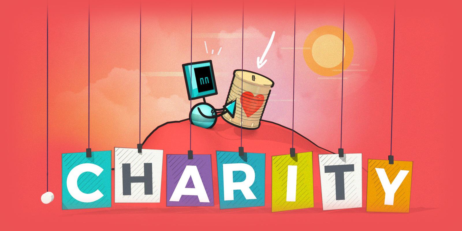 「.charity」をサンライズ期間中に登録しましょう