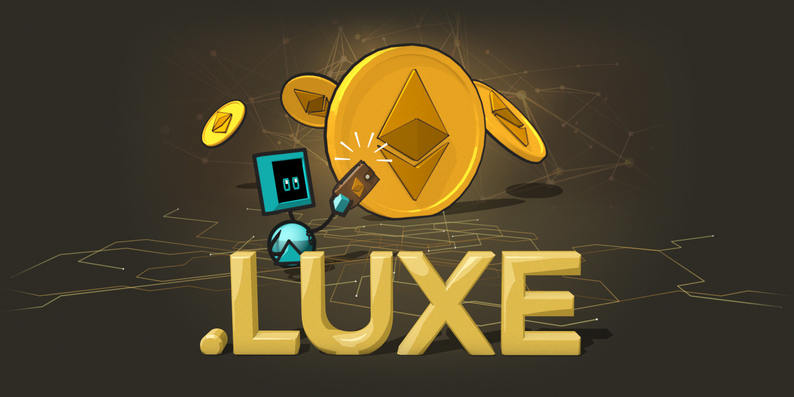 """""""Lets You Exchange Easily"""" 仮想通貨関連の「.LUXE」ドメインの登録開始"""