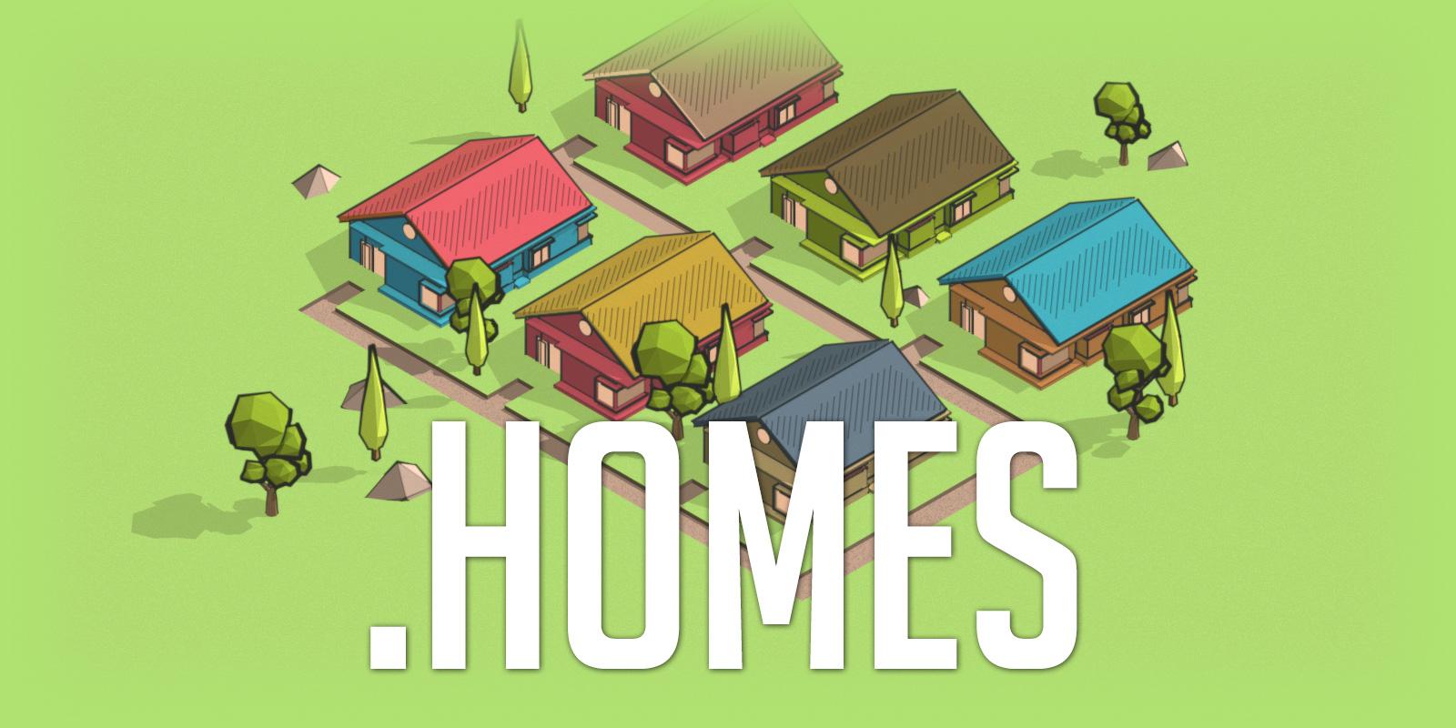 .HOMES 域名促銷中,現在就註冊一個你的 HOME!