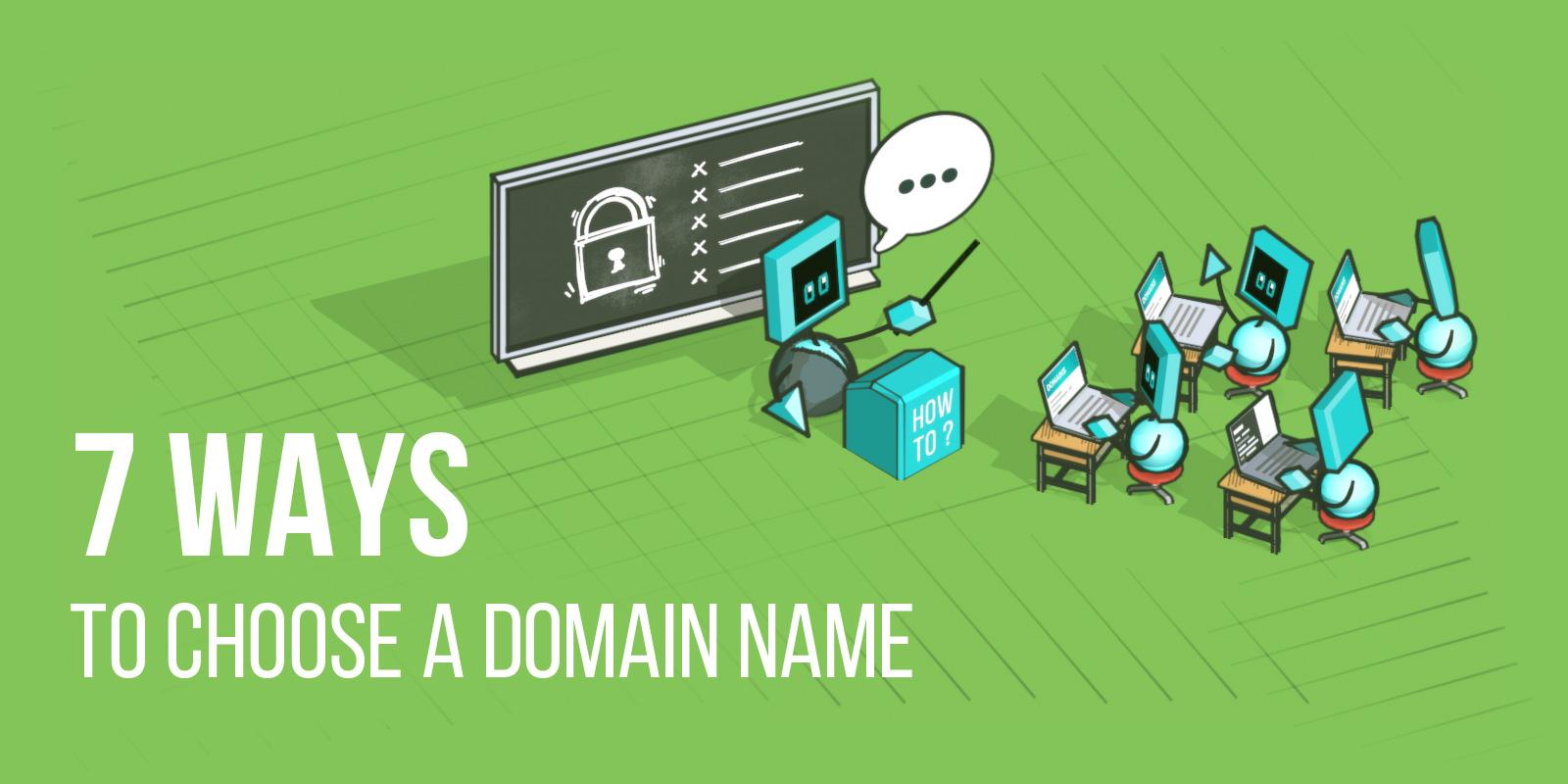 7 Tipps für die Wahl eines erfolgreichen Domain-Namens für Ihr Startup