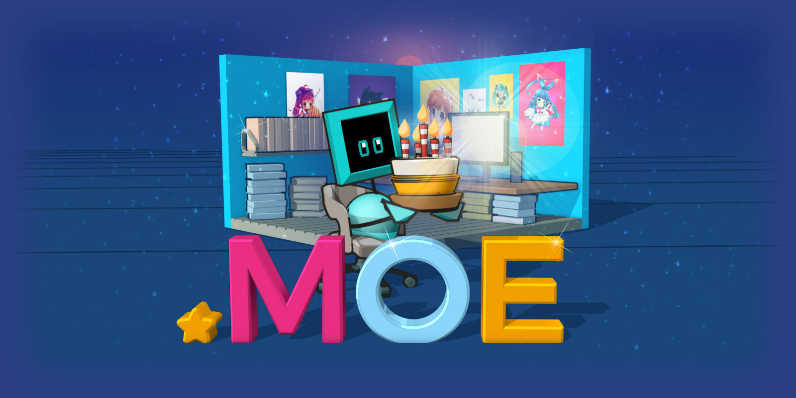 Half-price on .moe in celebration of 5th anniversary