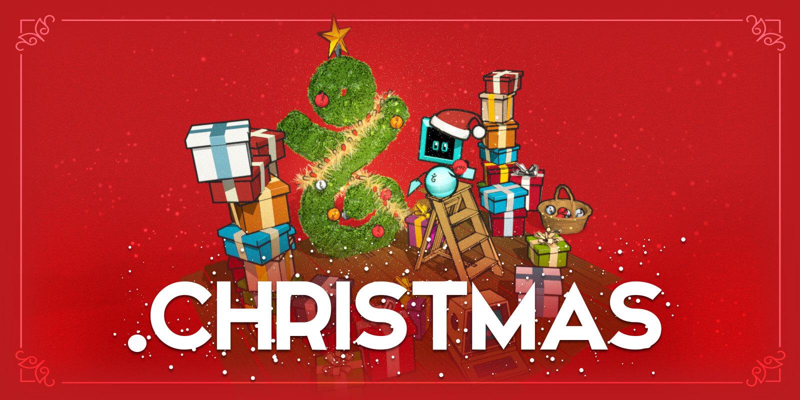 ¡Celebremos la temporada Navideña este año con .Christmas!
