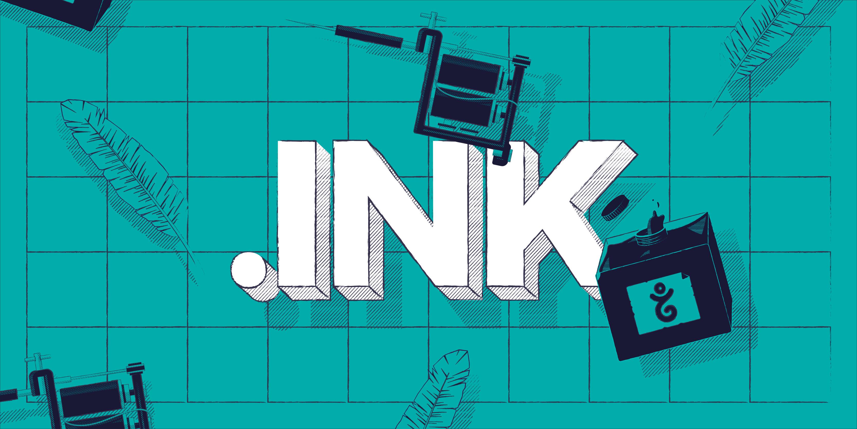今秋は .ink ドメインでウェブサイトを作りましょう!