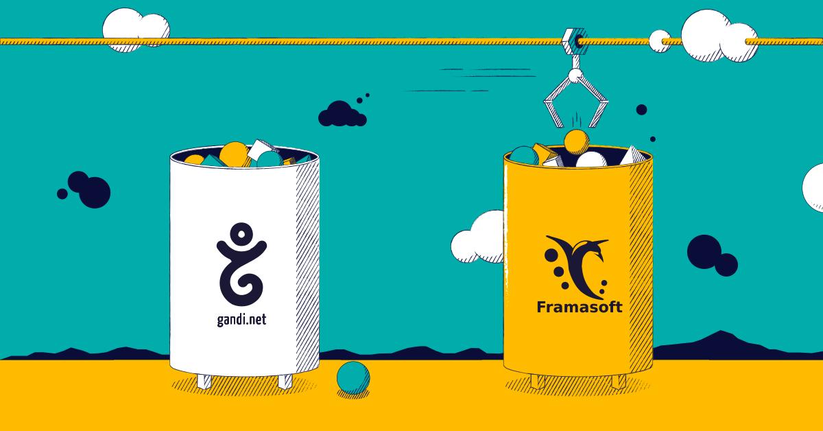 Framasoftのサポートを開始しました