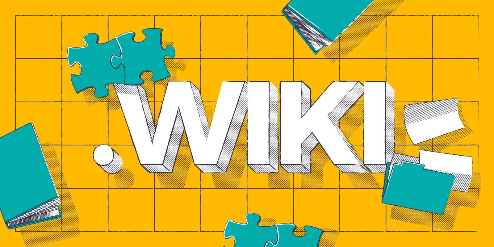 ¡Obtenga su .wiki por la mitad del precio normal!