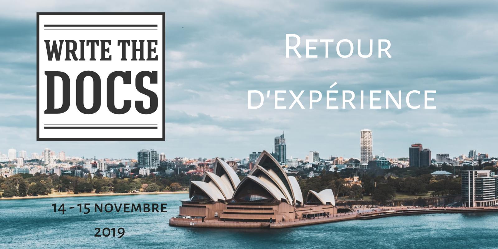 シドニーで開催された Write the Docs 2019に参加しました