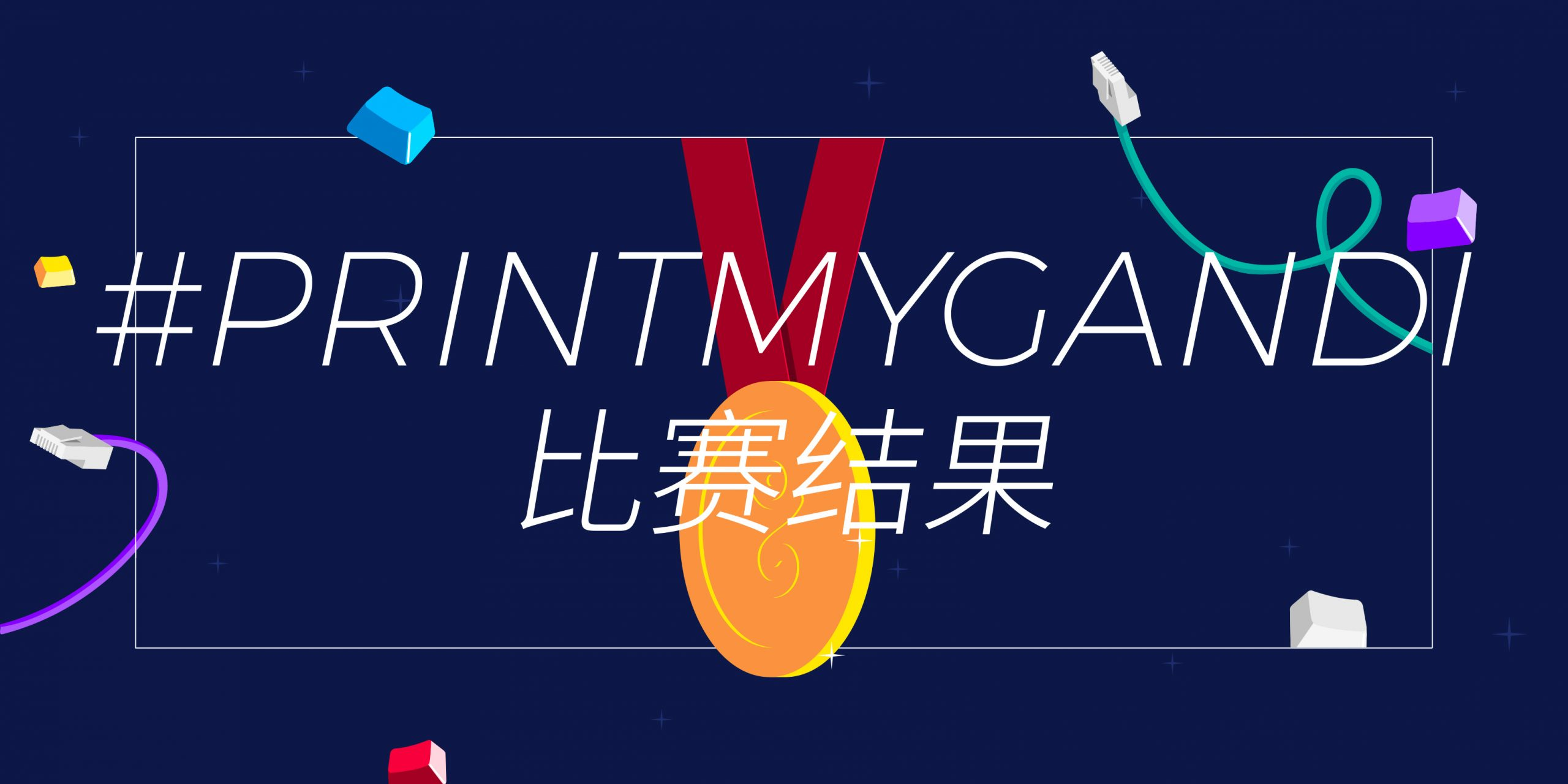 #PrintMyGandi T-shirt 设计竞赛的大赢家们
