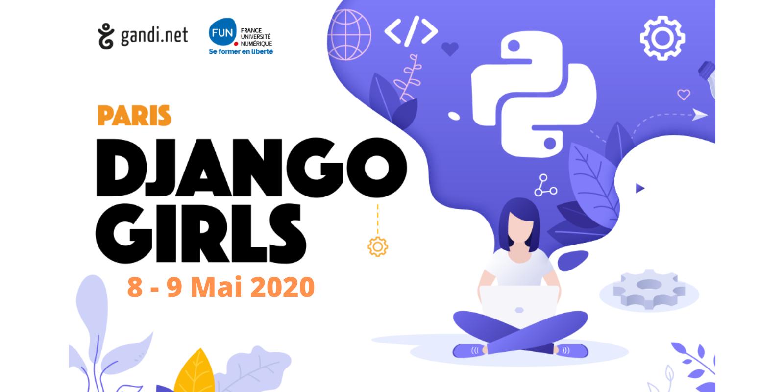 Apprenez à coder avec la Django Girls Paris