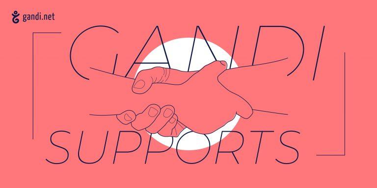 Gandi soutient des associations