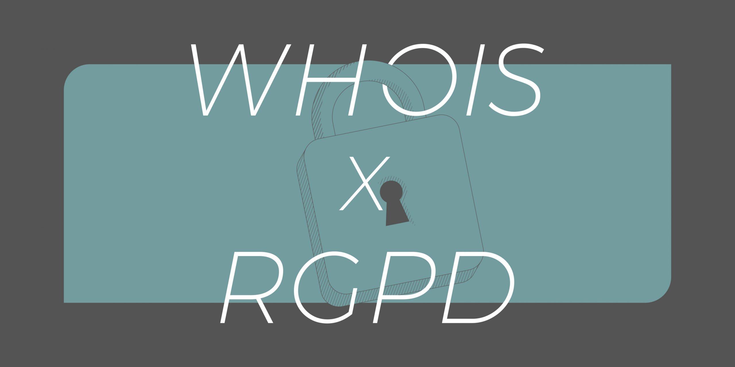 WHOIS 资料揭露与 GDPR