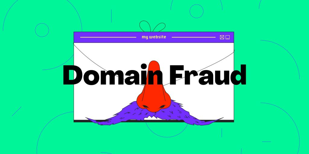 Domain name frauds are a threat for companies.