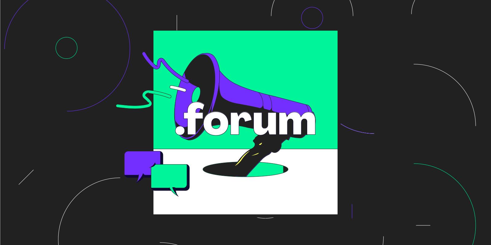 まもなく .forum ドメインをサンライズ期間で登録できるようになります