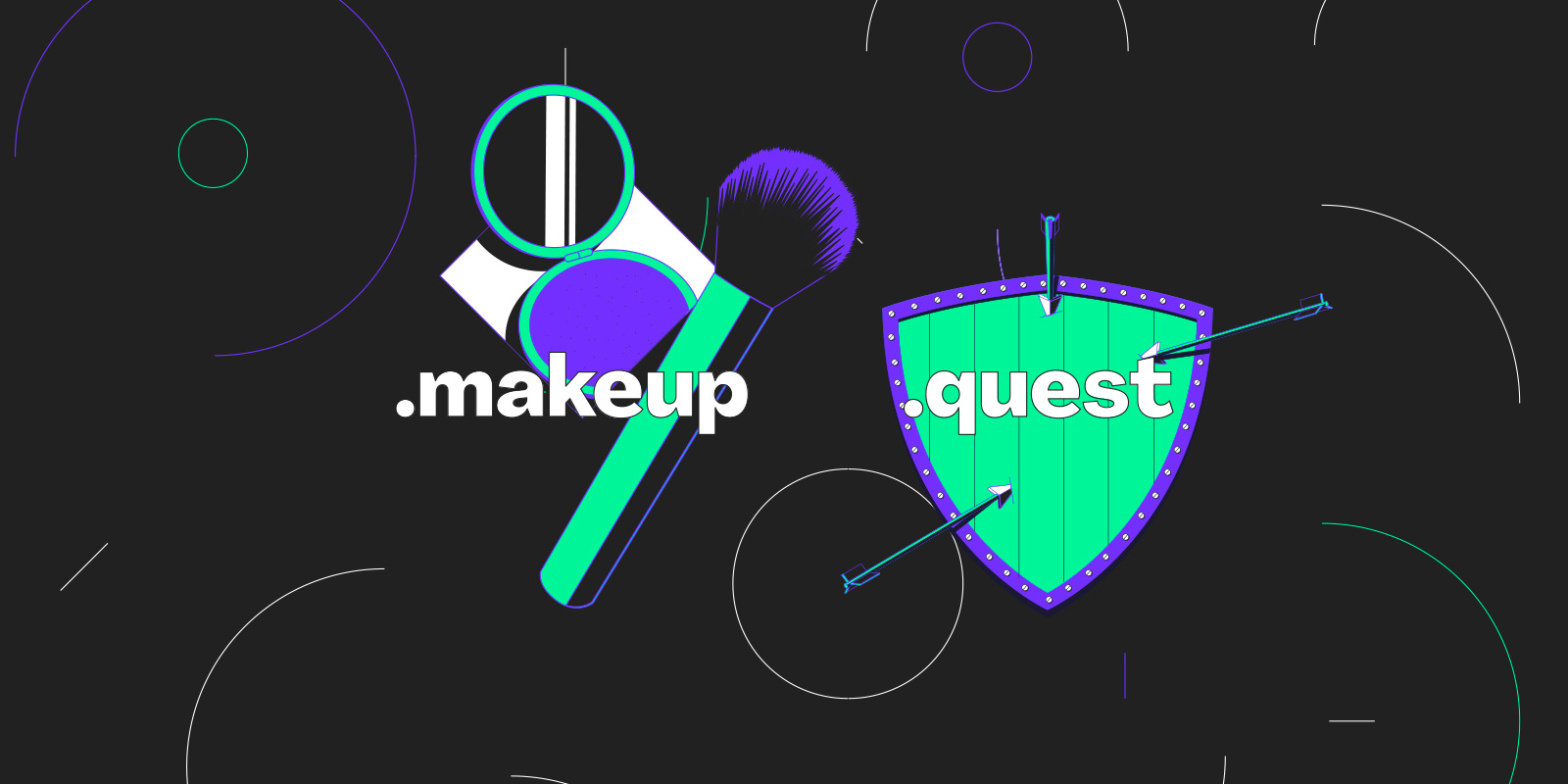 Both .makeup and .quest are now open to all