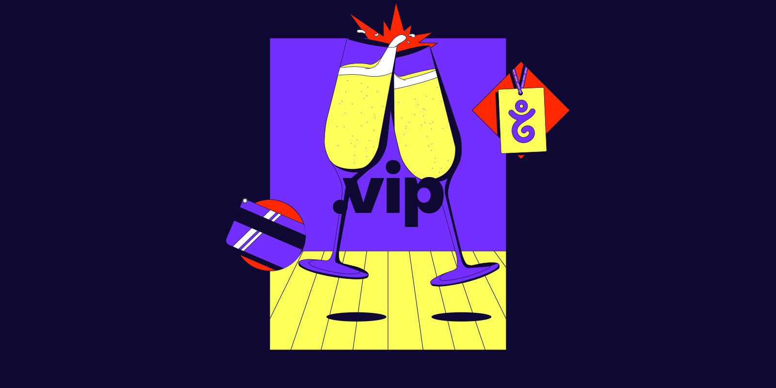 註册 .vip 域名即享 3 折优惠价!