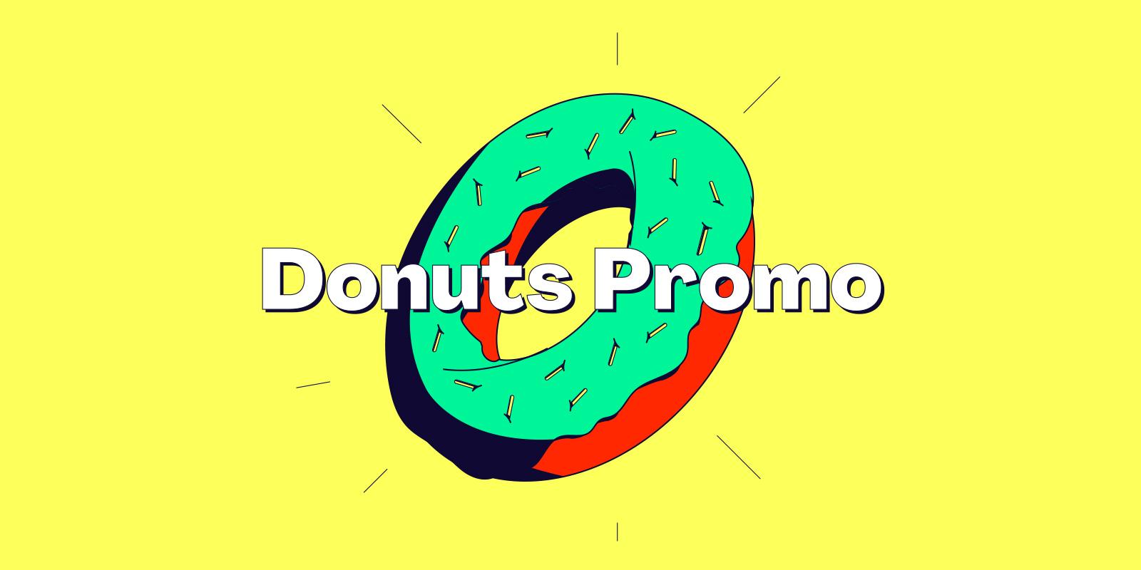 6 种 Donuts 域名限时抢购中!