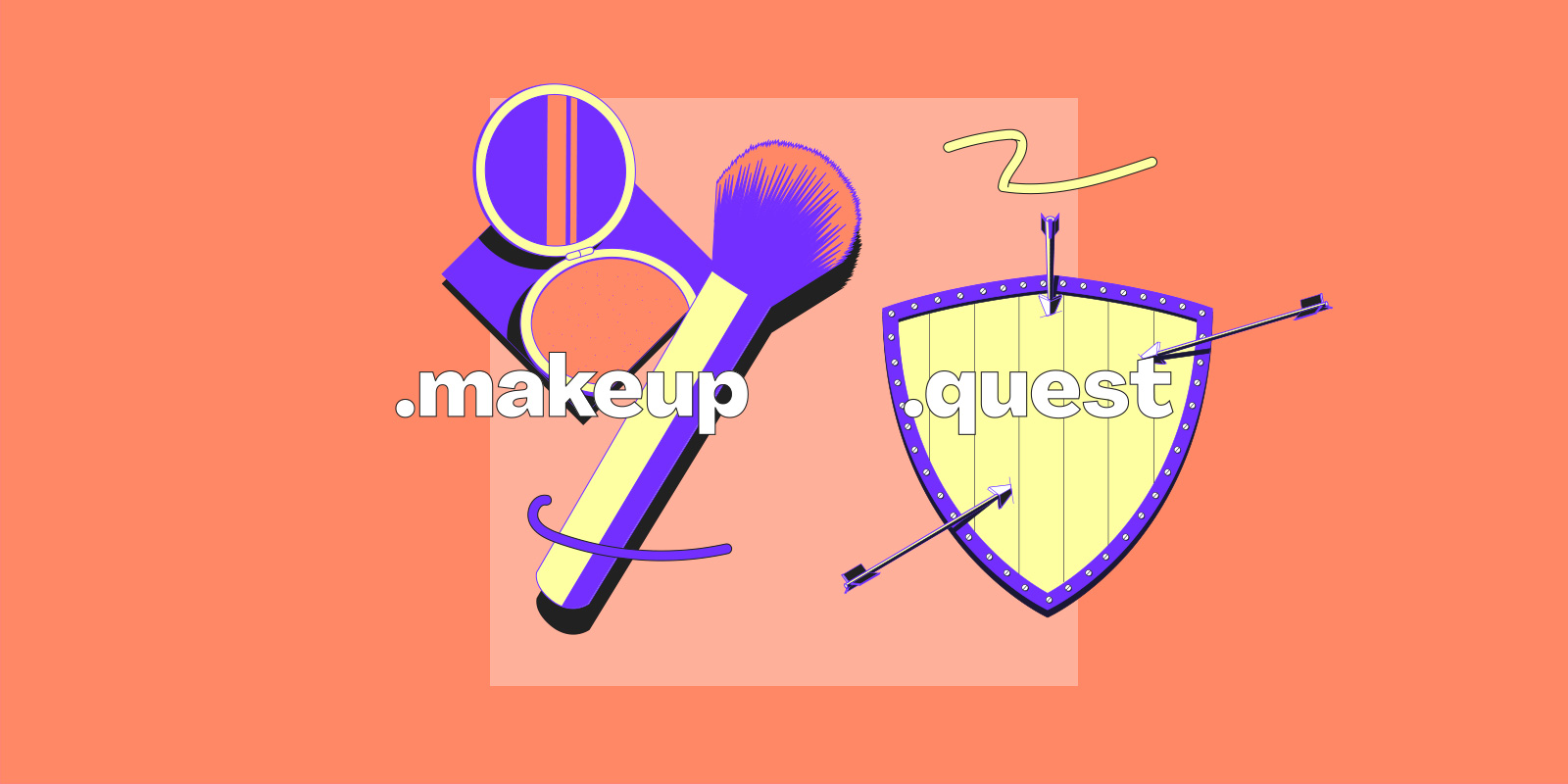 Both .makeup and .quest are re-opening to everyone!
