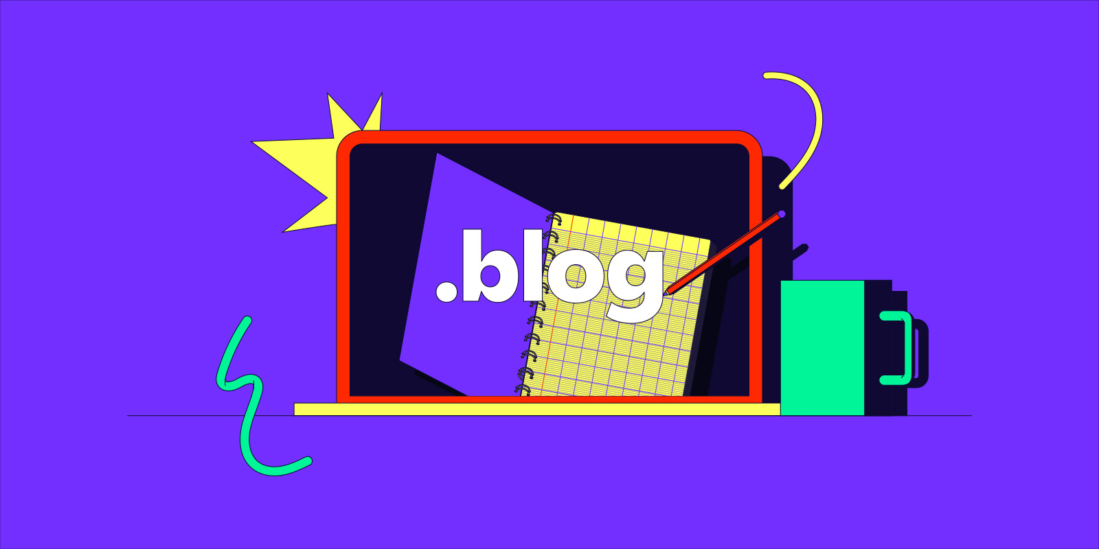 Start your .blog for nearly 75% off