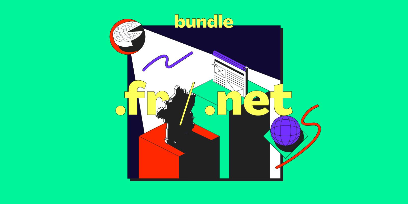 Votre pack .FR + .NET à moins de 20€ HT