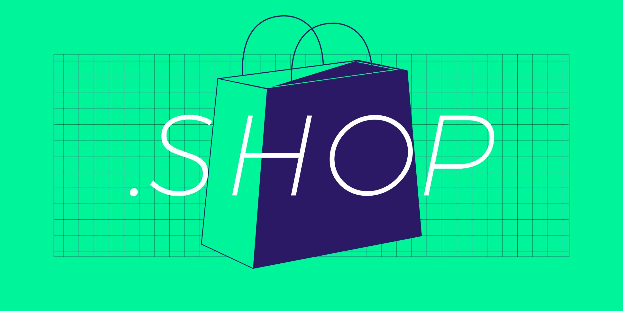 ネットショップに最適な .shop ドメインを割引価格で登録できます