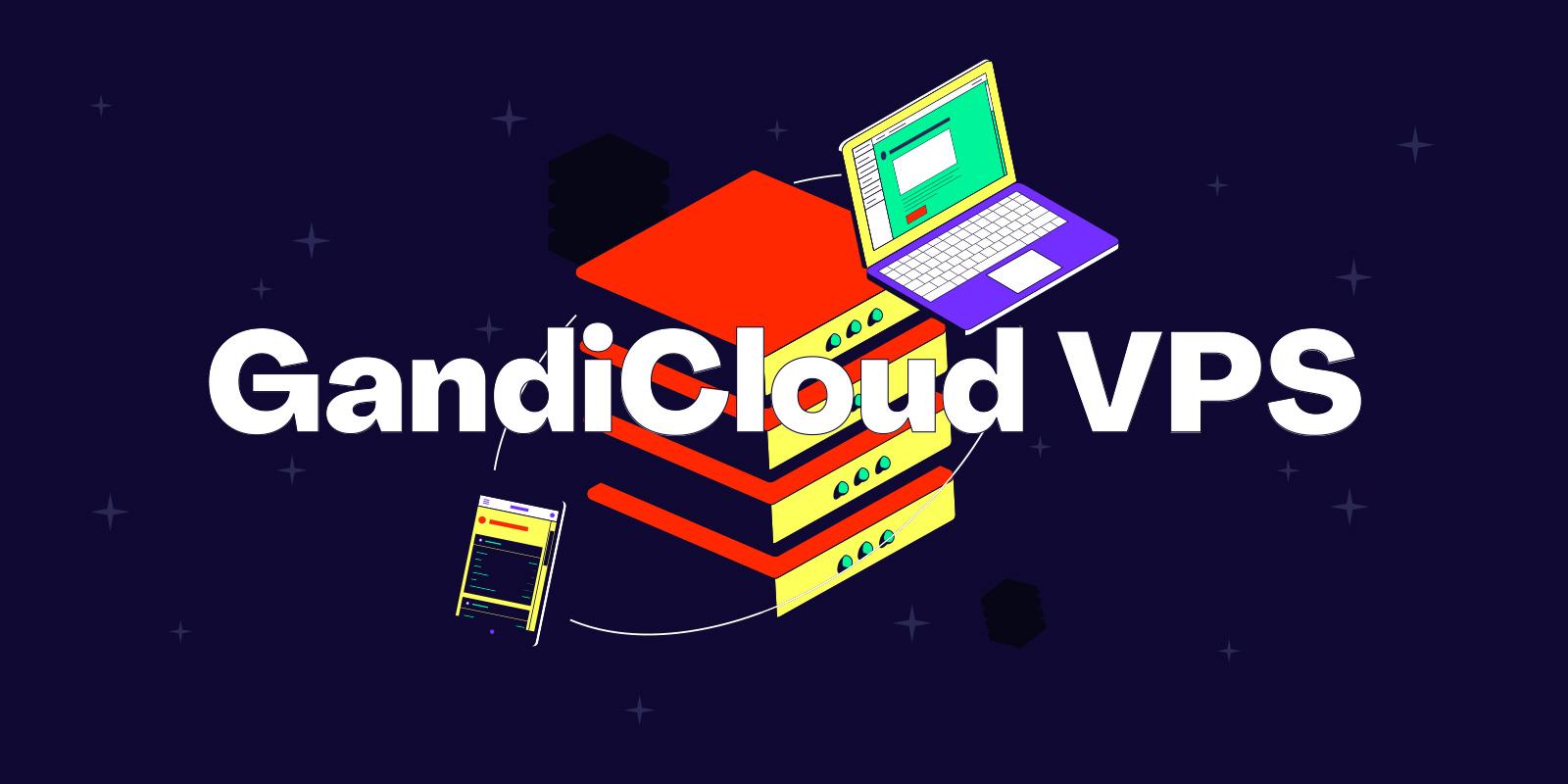 在 Gandi 云平台中新增 SSH 金钥并建立 VPS 伺服器