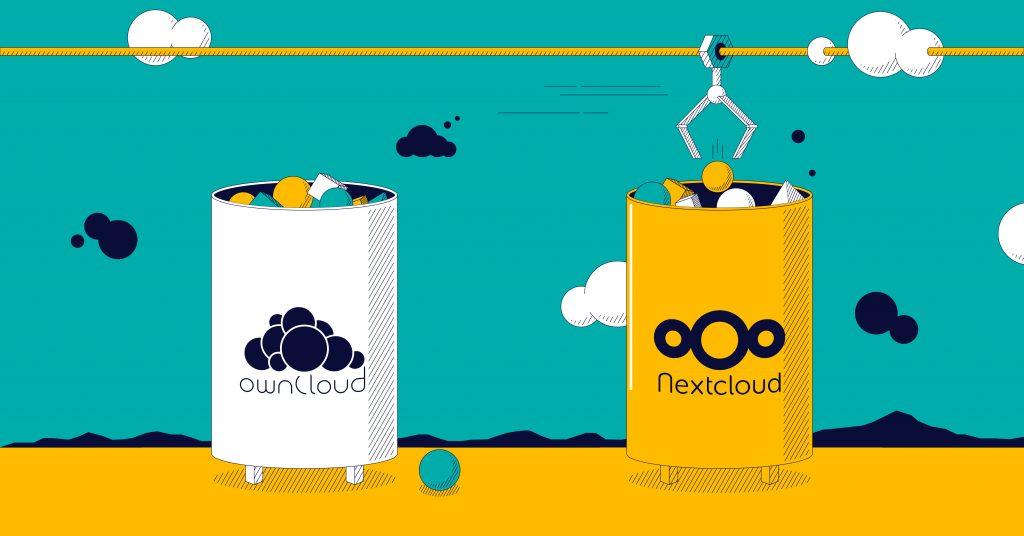 Gandi news: Nextcloud vs OwnCloud