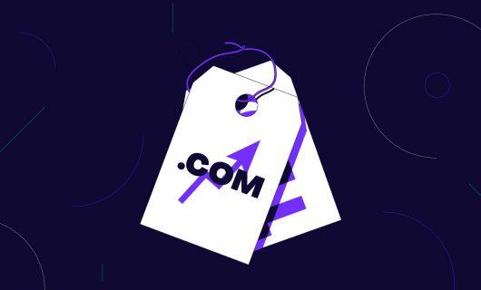 Price increase on .com domain names starting September 1, 2021