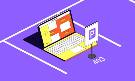 What is a parked domain name?